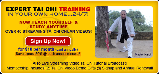 Expert Tai Chi Training in Your Own Home: Sign Up Now!